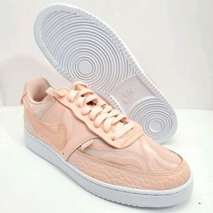 NWT Women's Nike Court Vision Lo Prm Washed Coral